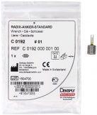 Radix-Anker® Standard Steckschlüssel Gr. 1 (Dentsply Sirona)