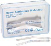 Hawe Tofflemire Matrizen 1101/30 0,038mm dünn (KERR)