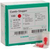 Combi-Stopper-Verschlusskonen rot (B. Braun Petzold)