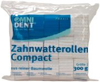 Zahnwatterollen compact Gr. 1 (Omnident)