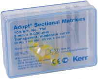 Hawe Adapt Sectional Matrizen Höhe 5,0mm, mäßig gewölbt (KERR)