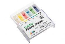 ROEKO Papierspitzen color  Normalpackung Gr. 015 weiß (Coltene Whaledent)