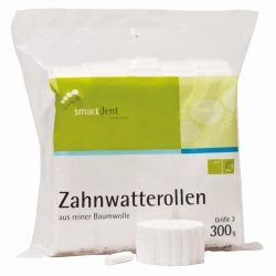 Zahnwatterollen Gr. 2 (smartdent)