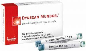 DYNEXAN MUNDGEL® Zylinderampullen (Kreussler)