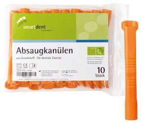 Absaugkanülen orange (smartdent)