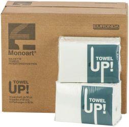 Monoart Patientenservietten Towel UP weiß (Euronda Deutschland)