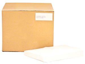 Tray-Filterpapier 18 x 28cm weiß (Unigloves)