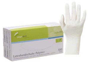 Latexhandschuhe Polymer Gr. L (smartdent)