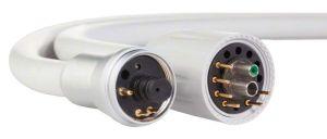 Silikonschläuche für Elektromotoren KaVo Typ 1 - drehbarer grauer Schlauchanschluss (smartdent)