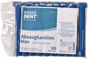 Absaugkanülen blau (Omnident)