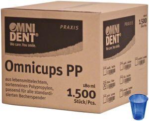 Omnicups PP dunkelblau (Omnident)