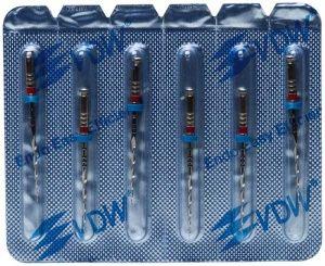 Mtwo® NiTi-Instrumente 25mm - Arbeitsteil 16mm  Gr. 25/.06 (VDW)
